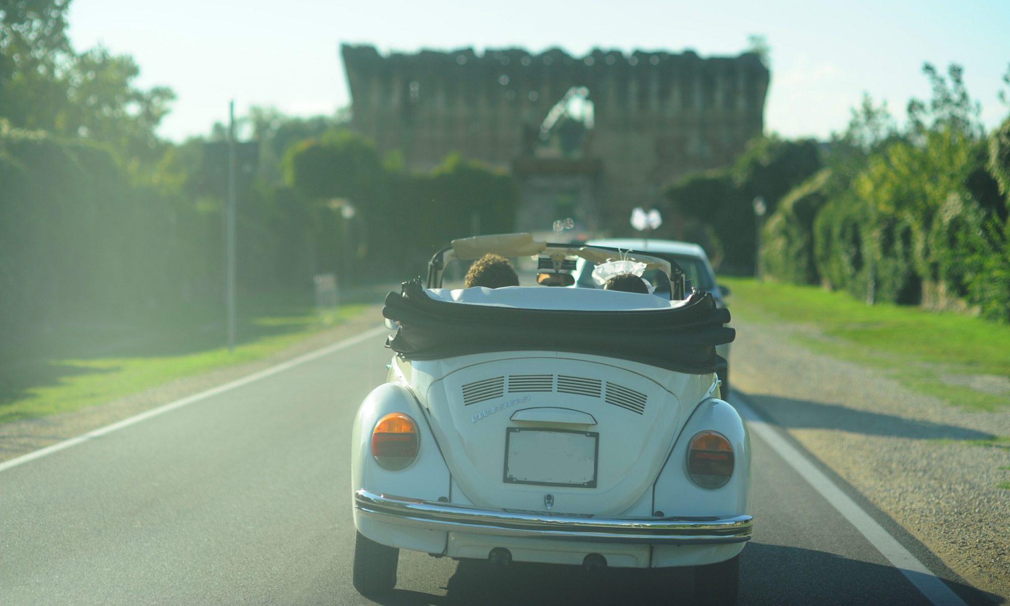 Maggiolino Cabrio per matrimoni